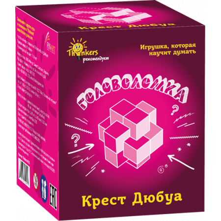 Головоломка THINKERS 0705 Крест Дюбуа