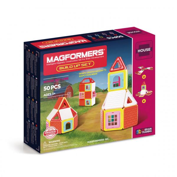 Магнитный конструктор MAGFORMERS Build Up set 50 дет. 705003