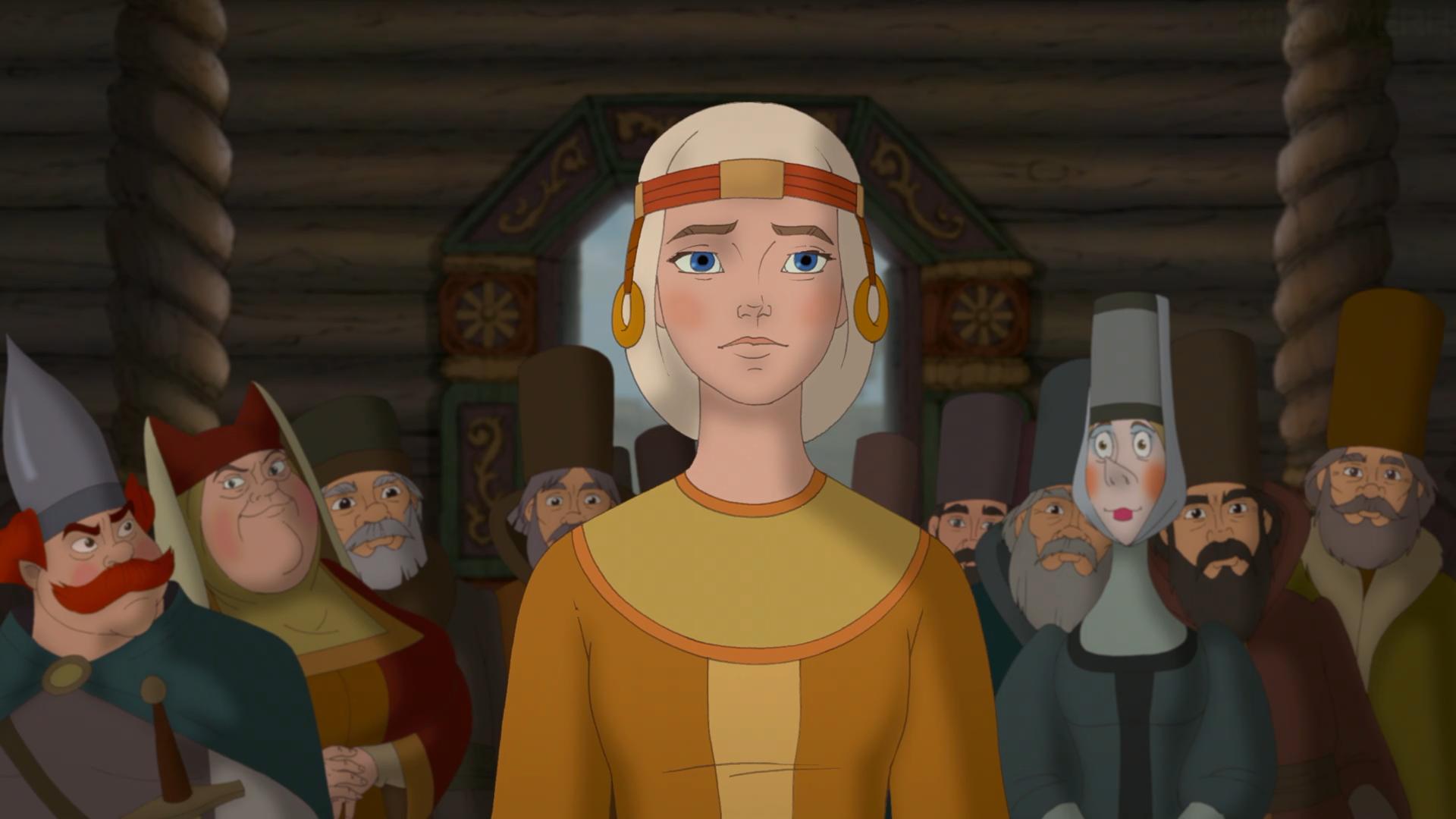 Петр и феврония картинки из мультфильма